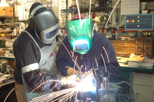 welding class with john barber
